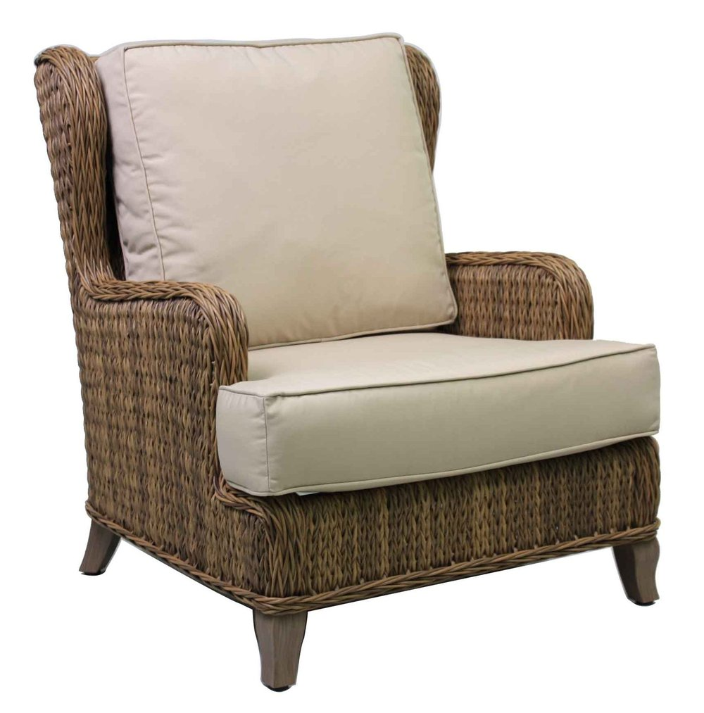 "973032 Monticello Wing Back Lounge Chair   31.8"" x 40.2"" x 38.2"""