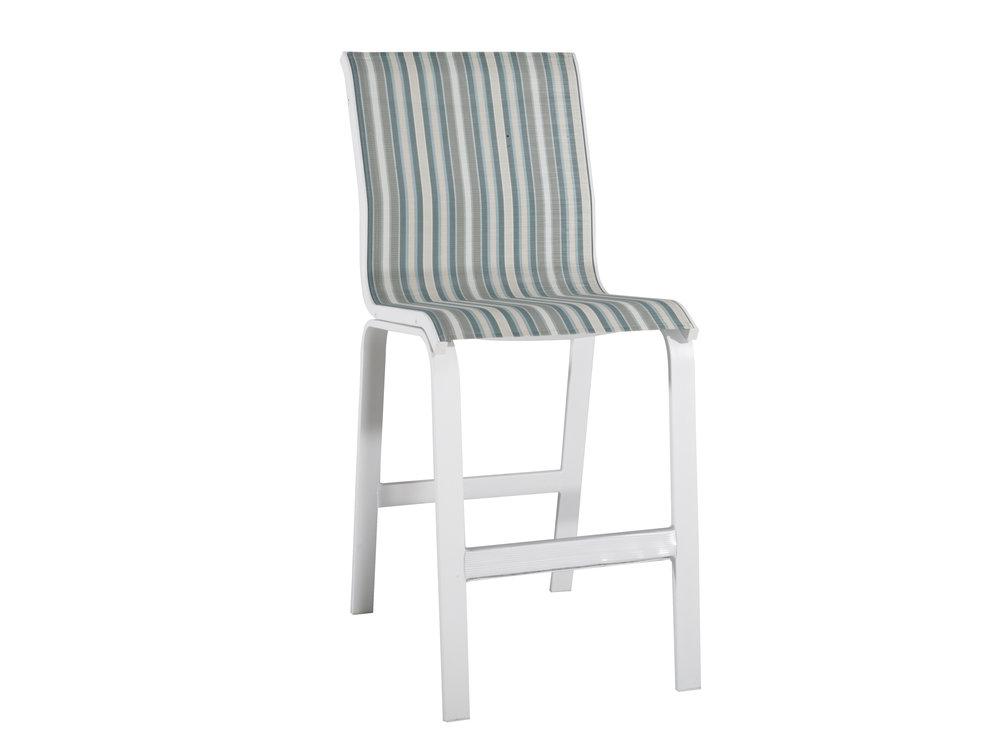 """970408 Aruba Armless Bar Chair   20.5"""" x 27.5"""" x 48.5"""""""