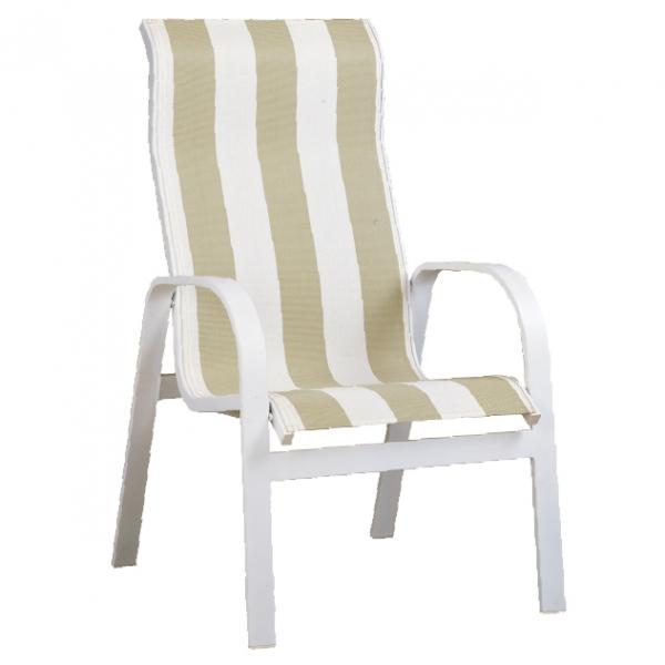 "970421H Aruba HB Dining Chair   24.9"" x 29.2"" x 37"""