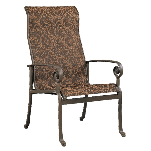 """970621H Caicos HB Dining Chair   24.6"""" x 30.3"""" x 38.2"""""""