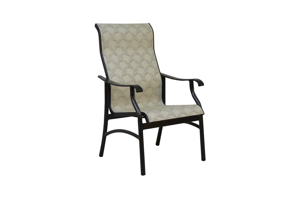 801821 Delray Dining Chair    24.6 x 29.2 x 42.2