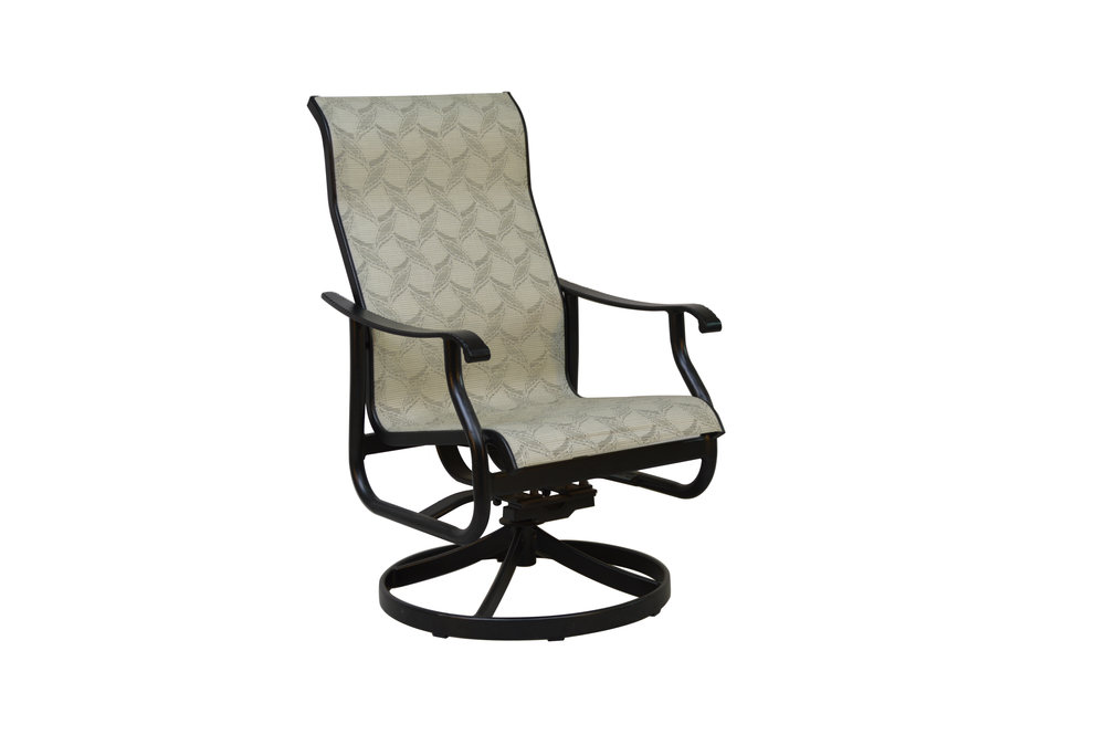 801823 Delray Dining Swivel Rocker    24.6 x 29.2 x 42.2