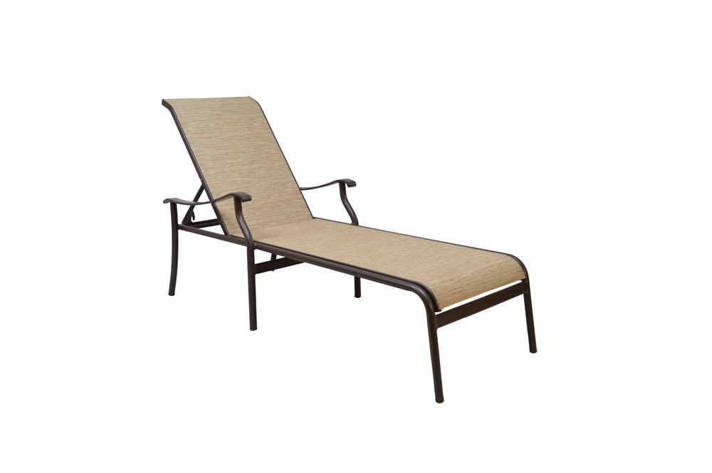 801852 Delray Adjustable Chaise    27 x 83.2 x 23.6