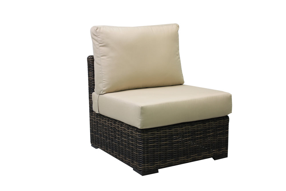 996031A Greenville Armless Chair   28 x 32 x 28