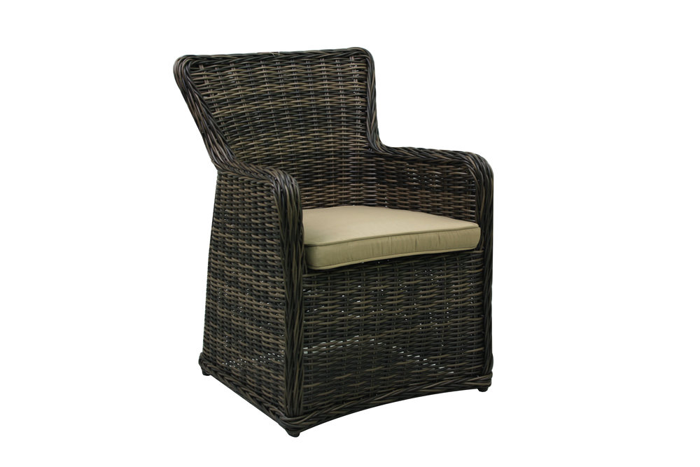 996021 Greenville Dining Arm Chair   25 x 24 x35