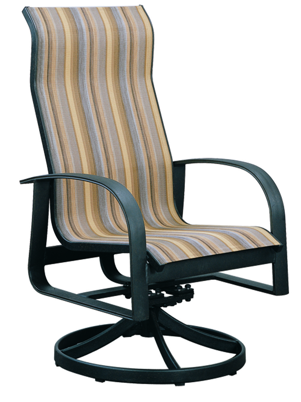 971023H Hermosa HB dining Swivel Rocker   25.4 x 29.5 x 42
