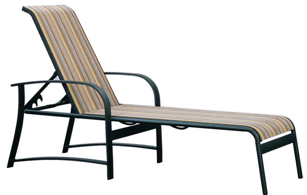 971051 Hermosa Adjustable Chaise   28.4 x 82.9 x 23.5