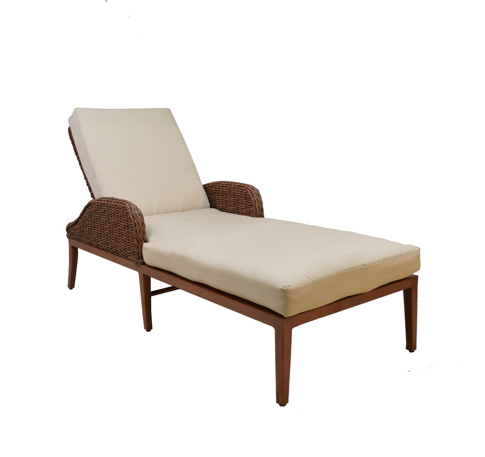 974152 Westchester Adjustable Chaise   28.8 x 82.3 x 23