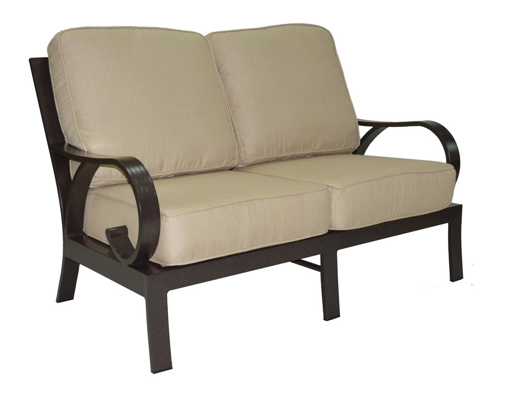 601561 Key Largo Loveseat   55 x 34 x 35