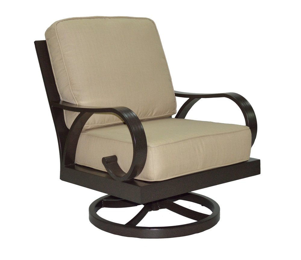 601528 Key Largo DS Swivel Rocker   30 x 34 x 35