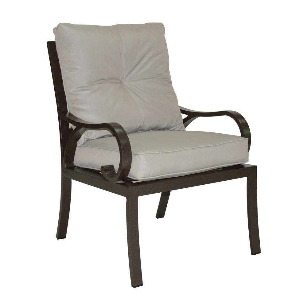 601520 Key Largo Cushioned Dining Chair   26 x 30 x 36