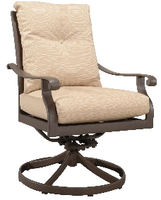 "970519 Mandalay Dining Swivel Rocker   27"" x 30"" x 37"""