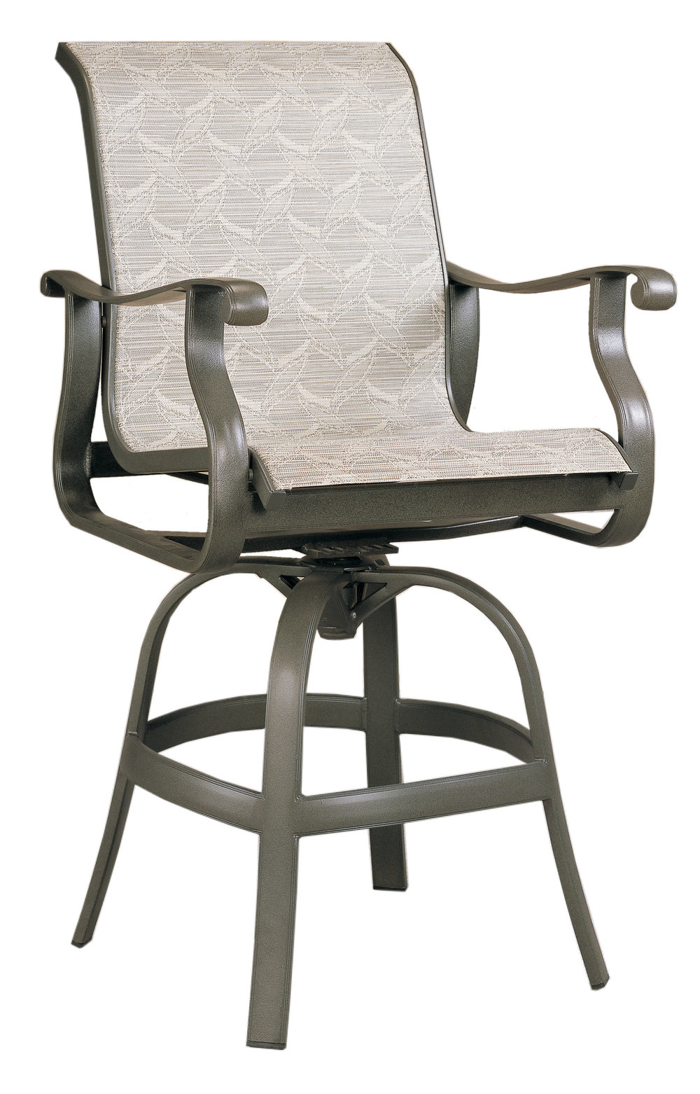 "970512 Mandalay Swivel Bar Chair   25.5"" x 39.2"" x 47.8"""