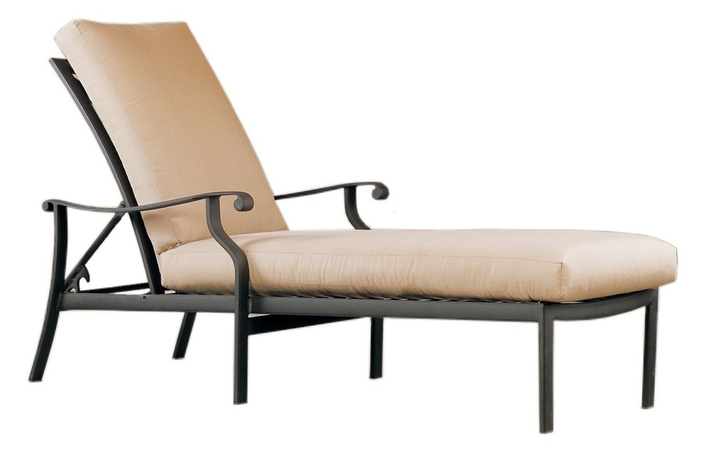 "970552 Mandalay Single Adjustable Chaise   29"" x 81.5"" x 22.8"""