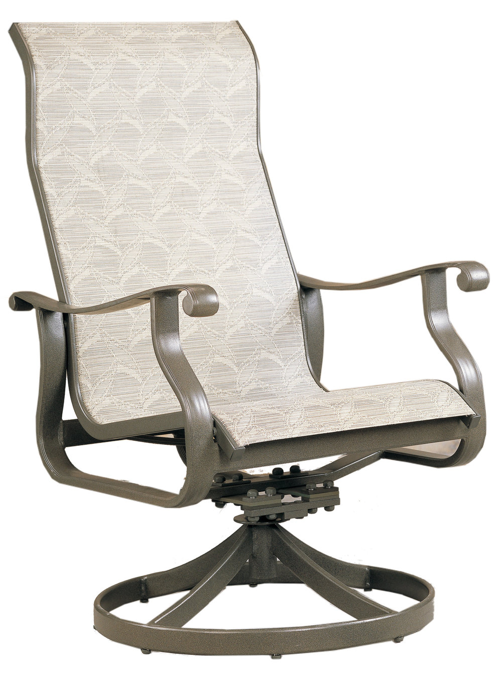 "970523H Mandalay HB Dining Swivel Rocker   25.2"" x 30"" x 42"""