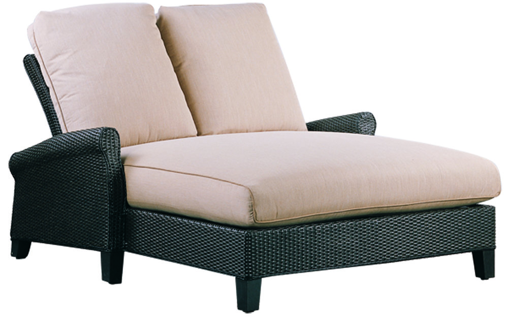 "970154 Monterey Single Adjustable Chaise   60"" x 82.6"" x 24.4"""