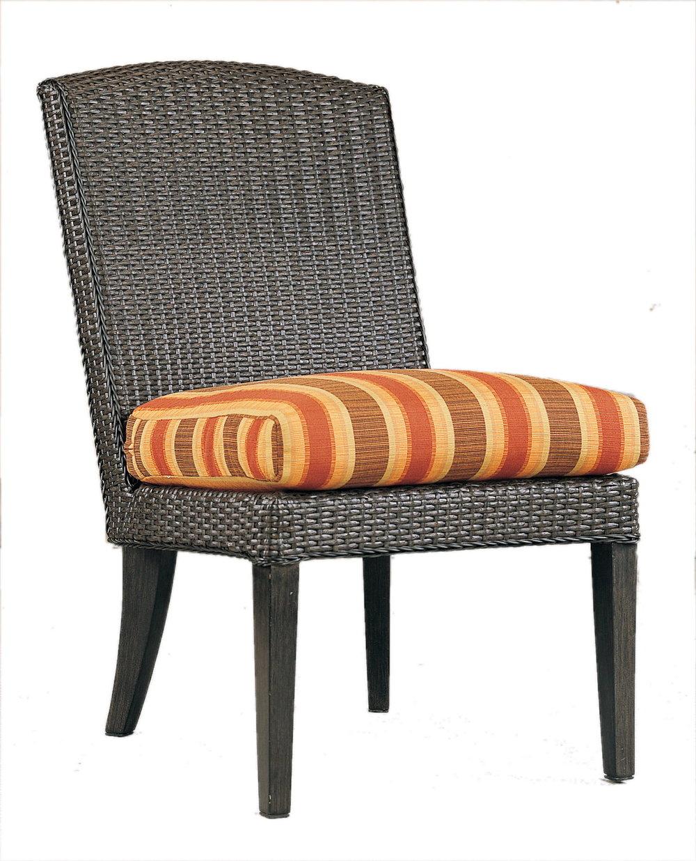 """970121 Monterey Side Chair   21.5"""" x 29.2"""" x 36"""""""