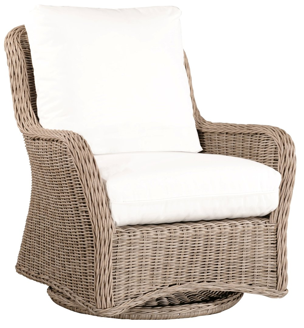 "971931   West Hampton DS Swivel Glider   32.6"" x 36.2"" x 36.4"""