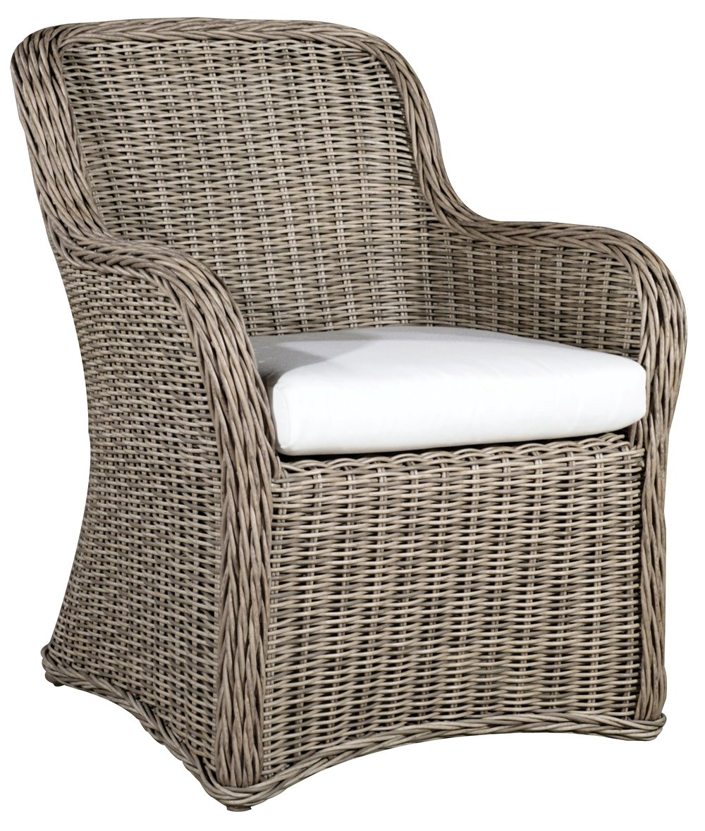 "971921   West Hampton Dining Chair   27.6"" x 28.5"" x 35"""