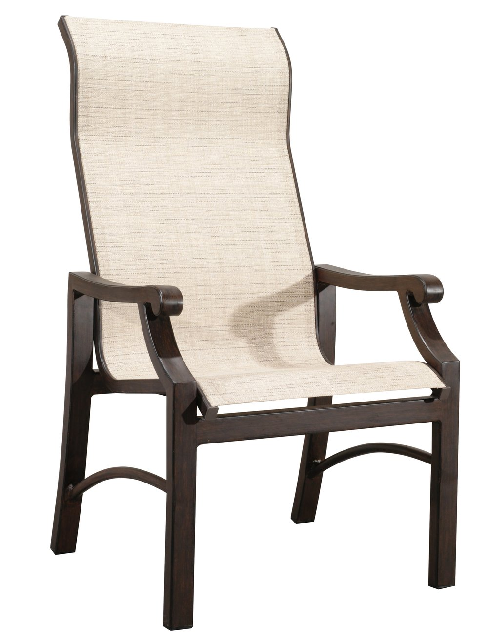 "970820 Venice Sling Dining Chair   27.4"" x 20"" x 42"""