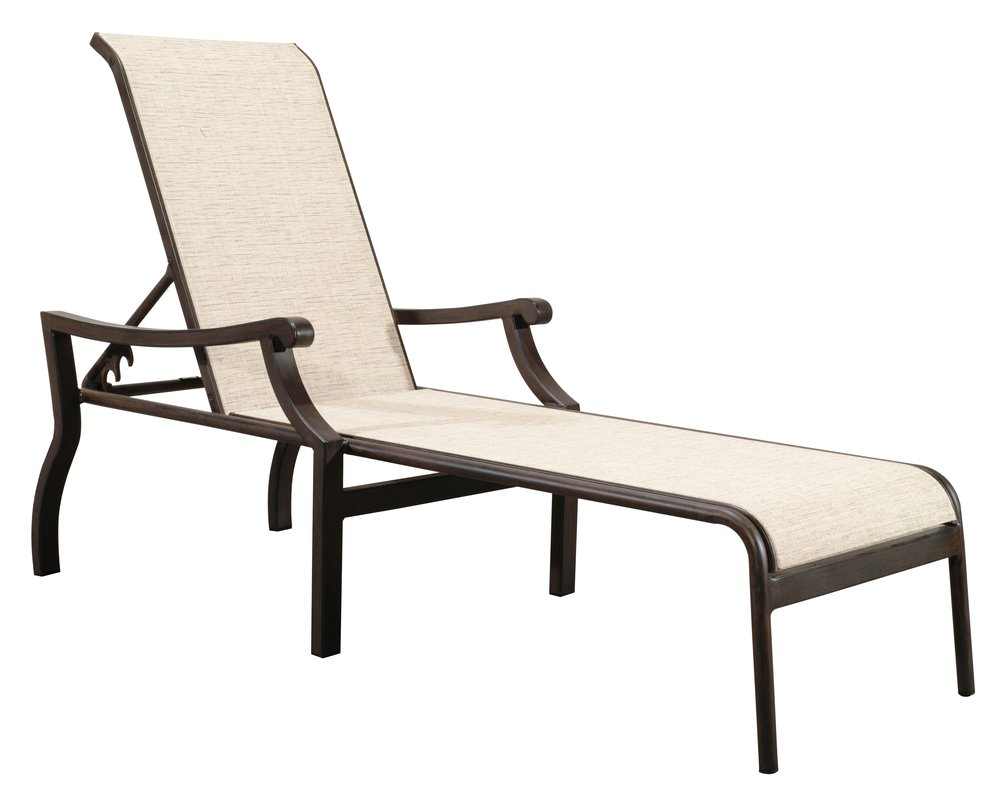 "970851 Venice Sling Chaise   82.7"" x 27.2"" x 23.3"""