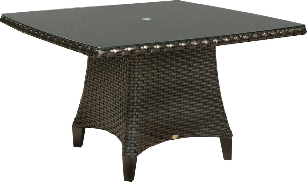 "971548   Kapaa 48"" SR Conversational Table w/ Woven Top   48"" x 48"" x 29"""