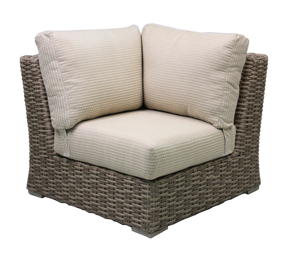 "957190 Sorrento 90 Degree Corner   36.8"" x 36.8"" x 30.5"""
