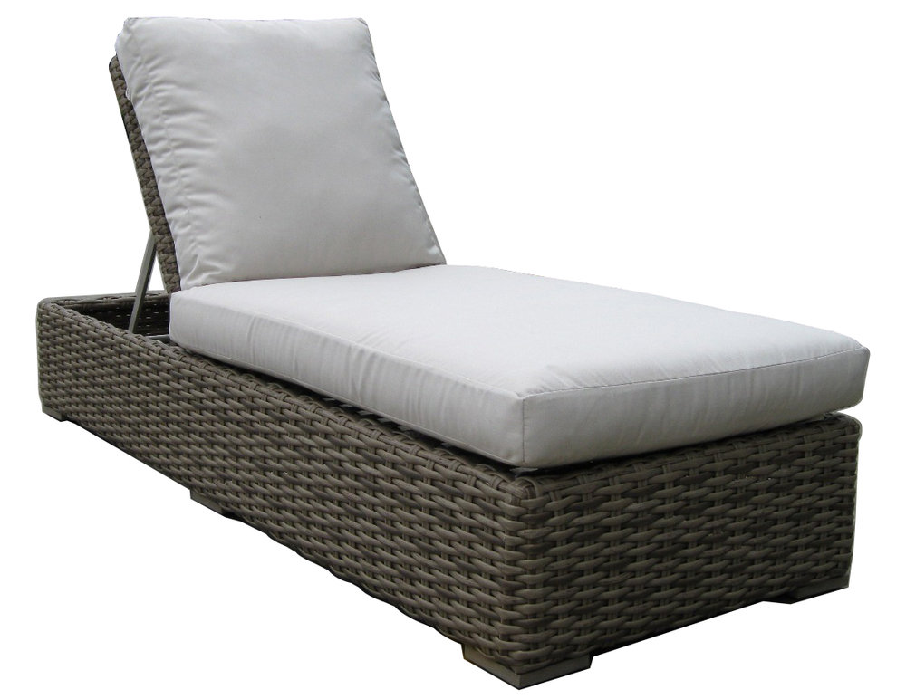 "957152 Sorrento Single Adjustable Chaise   30.1"" x 80.3"" x 11"""
