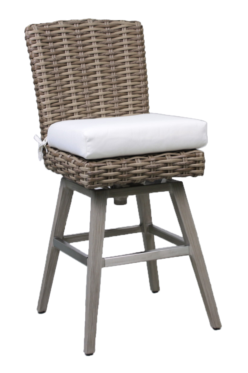 "957108 Sorrento Swivel Bar Stool    19.3"" x 23"" x 44"""