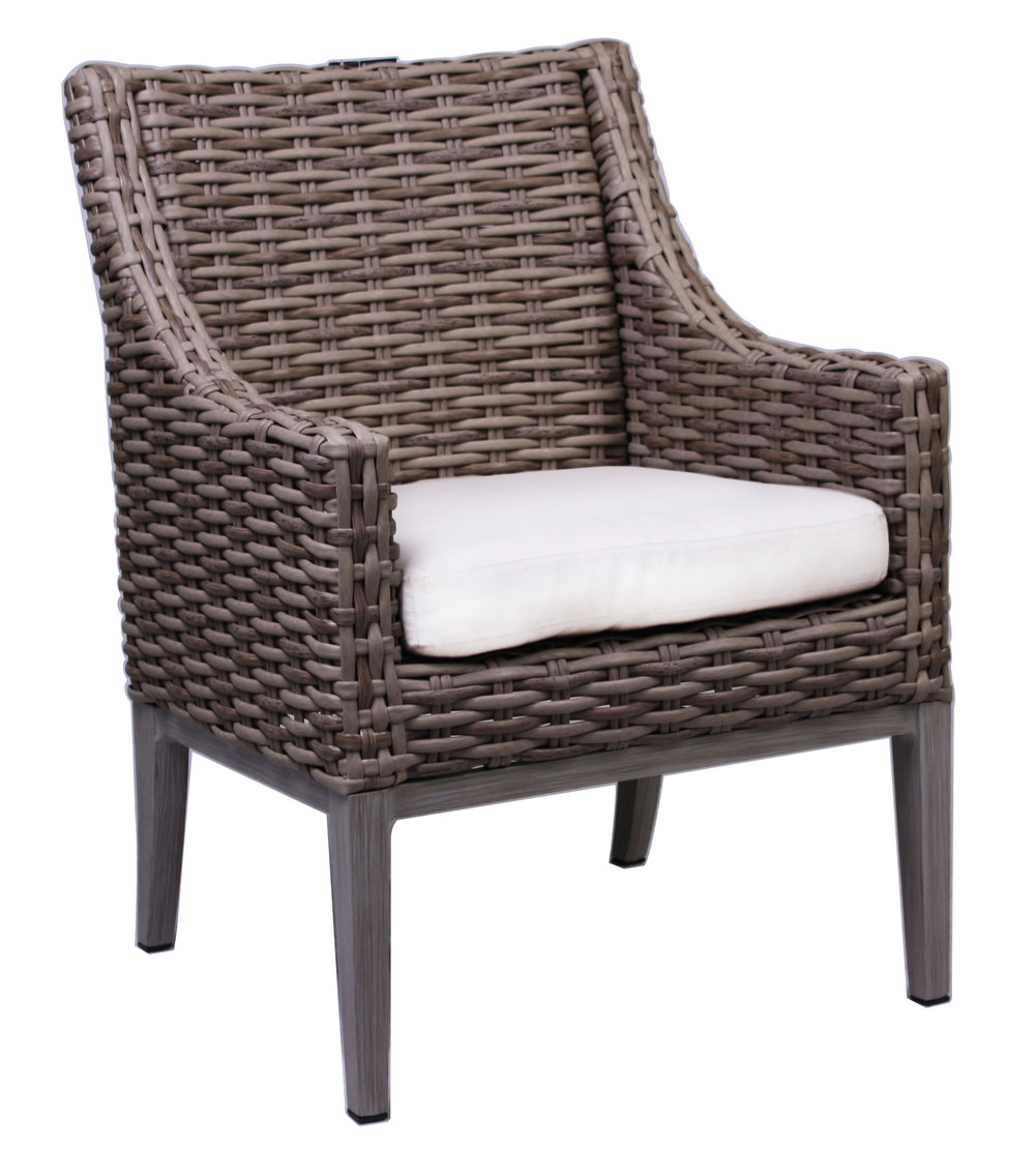 "957121 Sorrento Arm Chair   21.3"" x 27.6"" x 36"""