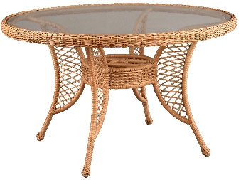 "950548 Rivierra 48"" Round Dining Table   50.5"" dia x 38"""
