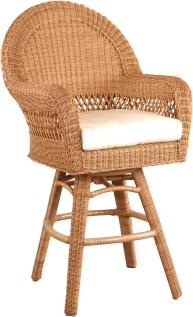 """512521 Rivierra Swivel bar Chair Dining Arm Chair   29"""" x 26"""" x 53"""""""