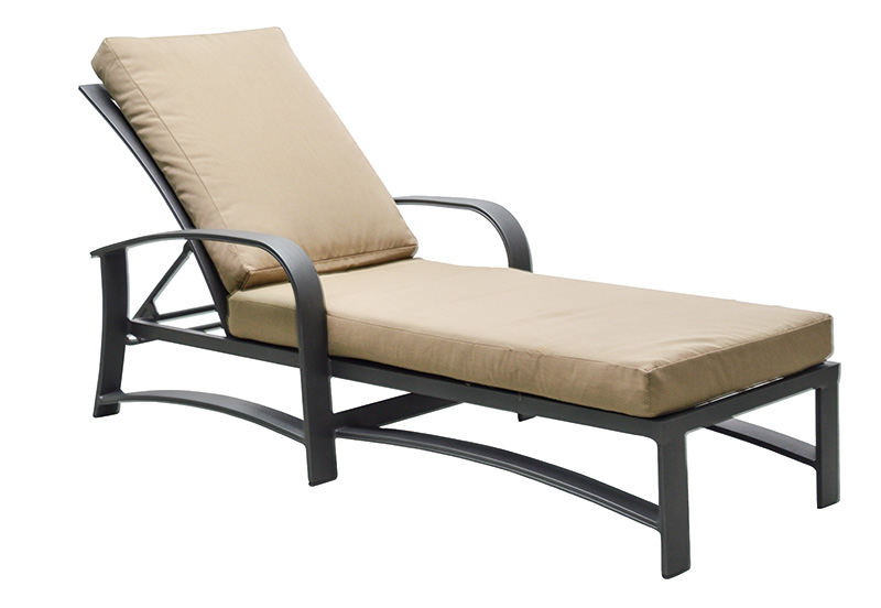 "971052 Martinique Cushioned Chaise   25"" x 72.8"" x 20.7"""