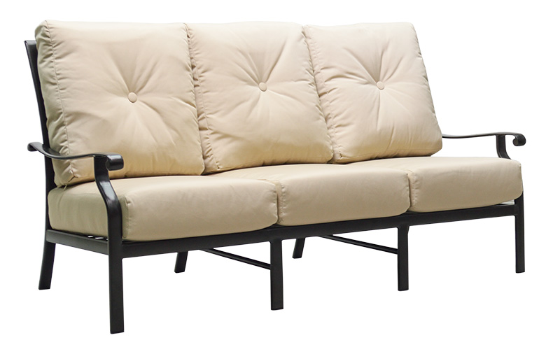 "970571H Mandalay HB Sofa   79.1"" x 38.9"" x 38.5""  (Image Incorrect BOX WELT - HB Crescents (row below))"