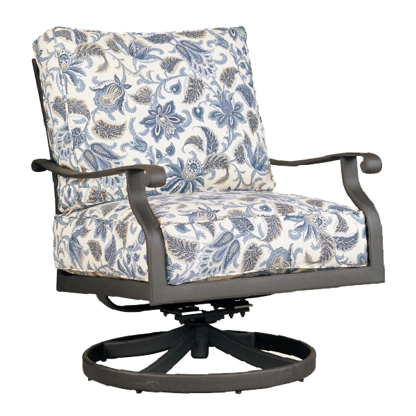 "972831H Mandalay HB DS Swivel Rocker   28.8"" x 38.9"" x 38.5""  (Image Incorrect BOX WELT - HB Crescents (row below))"