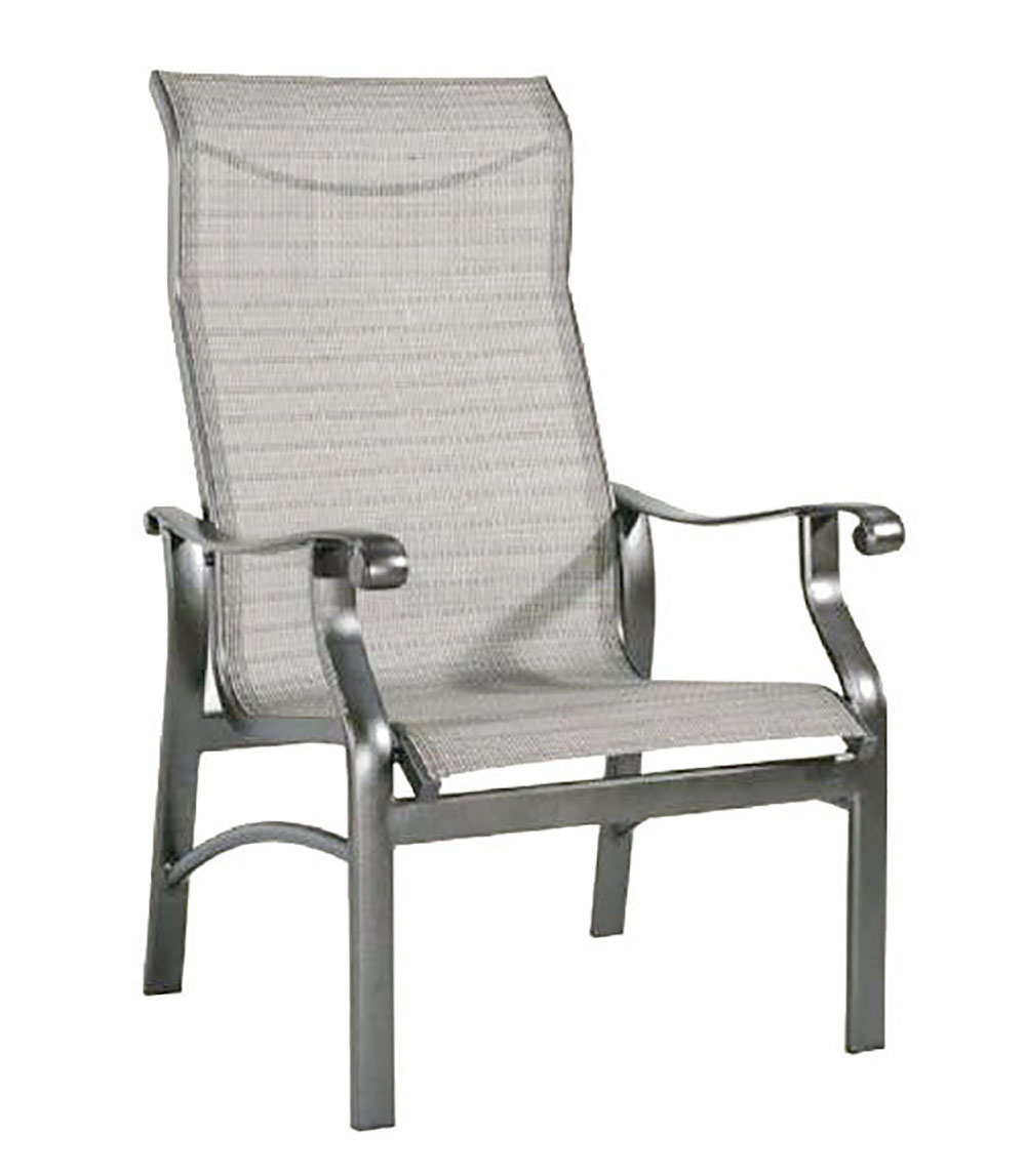 "970532 Mandalay Stationary Chat Chair   26.4"" x 30"" x 43.3"""