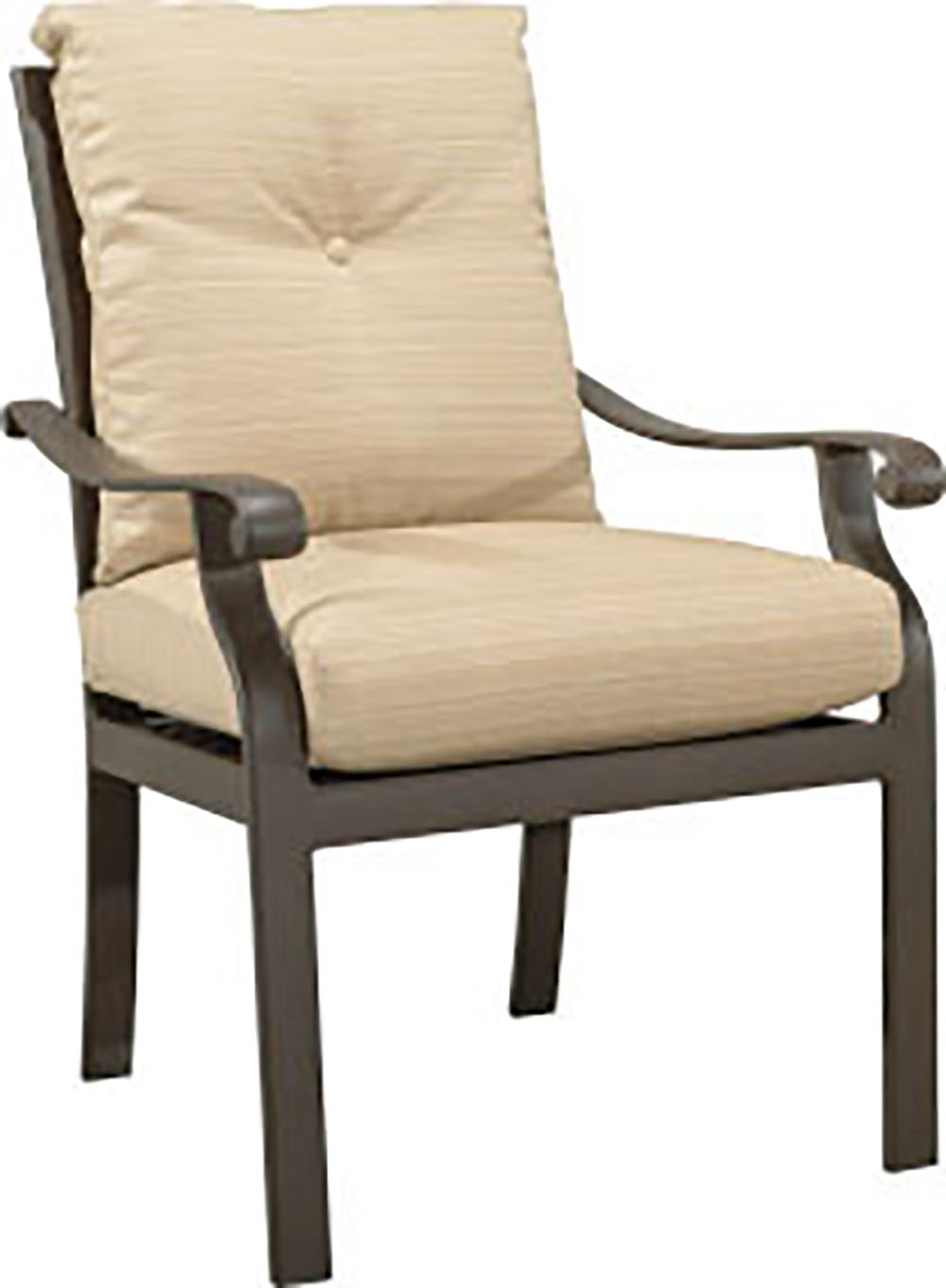 "970520 Mandalay Dining Chair   27"" x 30"" x 37"""