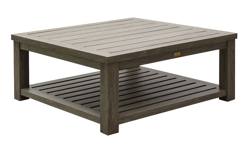 "975342 Seattle Square Coffee table   43.3"" x 43.3"" x 19.7"""