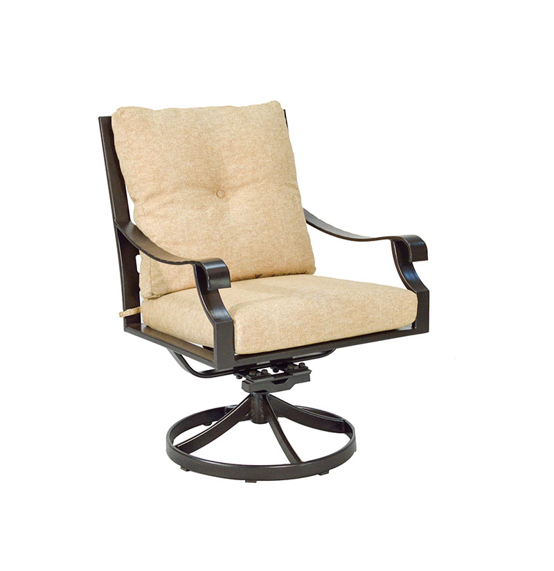 "974723P Sonoma Cushioned Dining Swivel Rocker   28.7"" x 27.1"" x 37.2""  (Image Incorrect BOX WELT)"