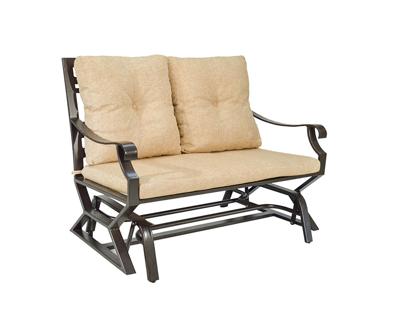 "974765P Sonoma Cushioned Double Glider   49.5"" x 32.6"" x 37.2""  (Image Incorrect BOX WELT)"