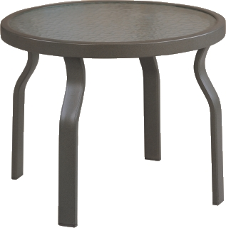"B-24R 24"" Round End Table                          33.1"" x  40.8""  x  38.9"""