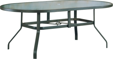 "B-76O 42"" x 76"" Oval Dining Table                    40.5"" x  40.5""  x  38.9"""
