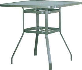 "B-42B 42"" Square Bar Table                   85.1"" x 32.4""  x  20.8"""
