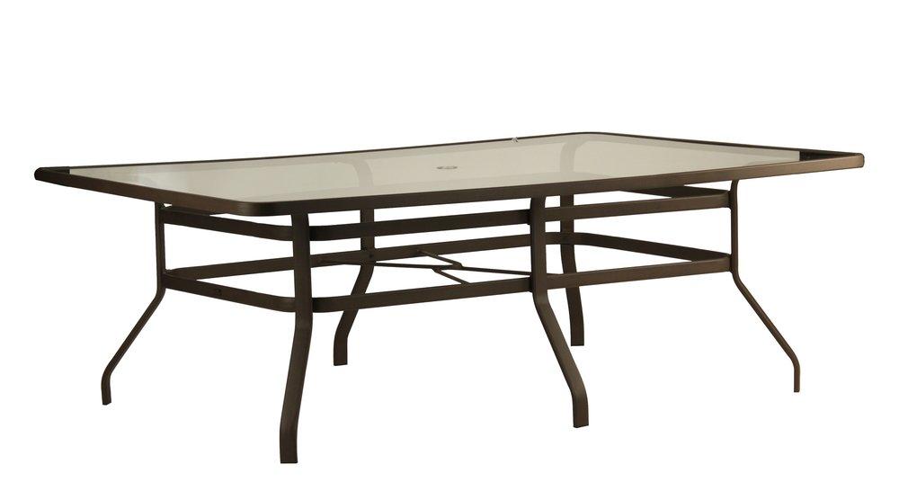 """B-84R 44"""" x 84"""" Rect dining table               42.5"""" x 42.5"""" x 11.1"""""""