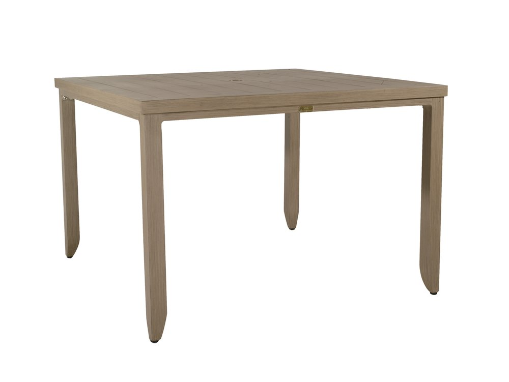 "MR-48 Square Dining Table   43"" x 43"" x 29"""