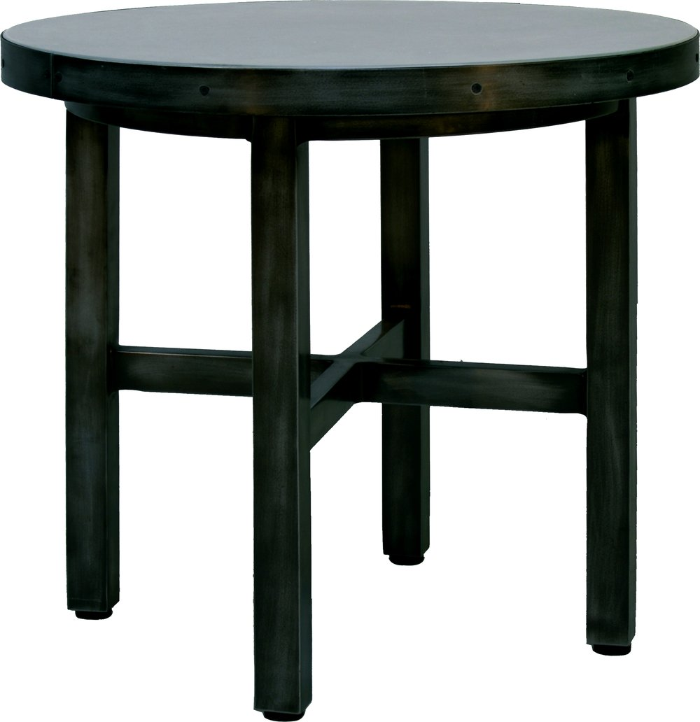 "AN-24R 24"" Round End Table   24"" dia x 19"""