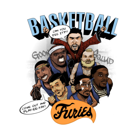 Grizzlies  Basketball Furies    Memphis   T Shirt   TeePublic.png