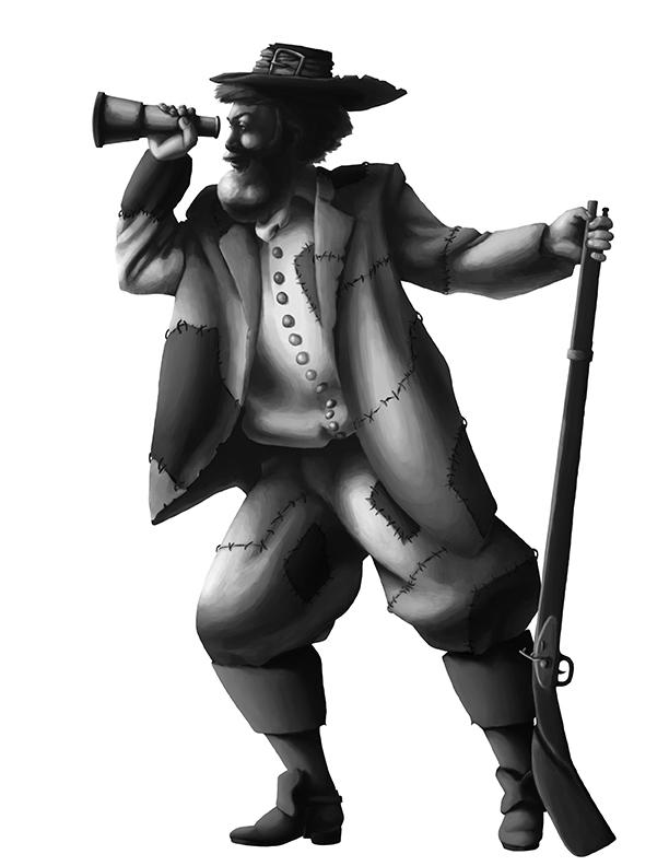 Character Design Robinson Crusoe
