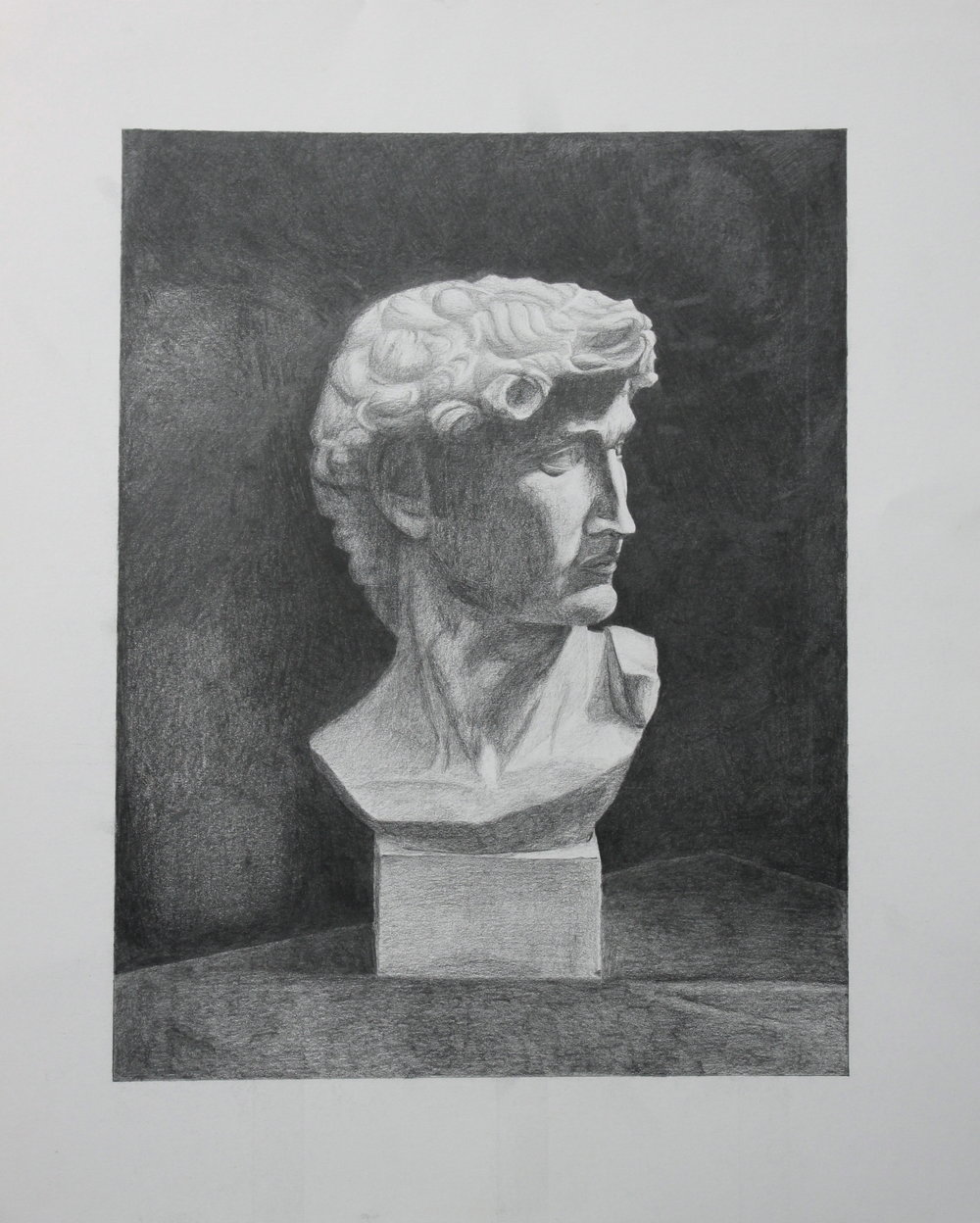 Bust of David in Smoothtone