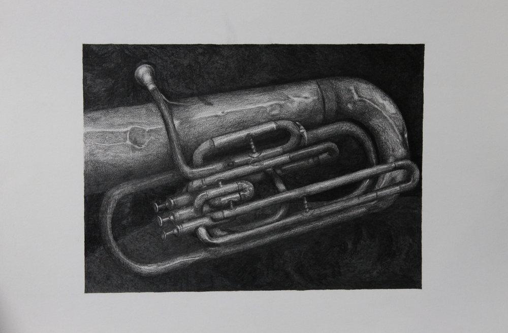 The Old Baritone Tuba